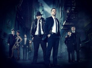 Ben McKenzie and Donal Logue as Detective James Gordon and Harvey Bullock in Fox Gotham TV Show Pilot Episode