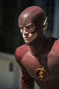 Flash Season 2 Episode 1 The Man Who Saved Central City poster wallpaper image screensaver